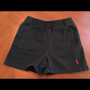 18 mo POLO by Ralph Lauren navy shorts great cond